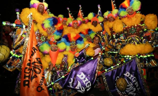 baile popular carnaval 2012