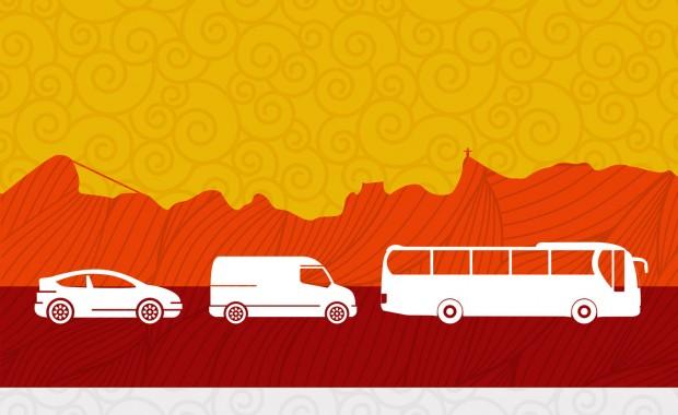 transporte para o sambodromo